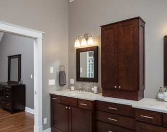 Libertyville Residence Bathrooms
